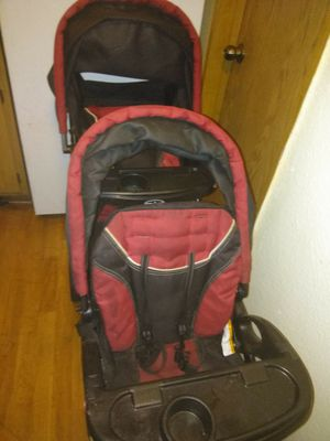 Double baby toddler stroller for Sale in Las Vegas, NV