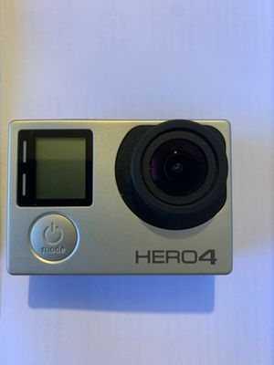 GO PRO HERO 4 SILVER for Sale in Grand Prairie, TX