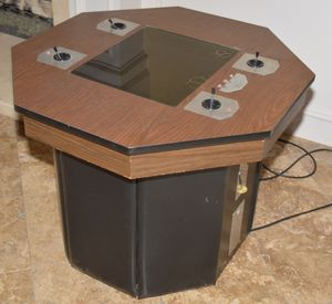 1974 Meadows Flim-Flam 4 Player Pong Coin Operated Arcade Video Game Machine Atari for Sale in Poway, CA
