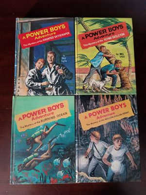 Vintage Power Boys Adventure books for Sale in Pataskala, OH
