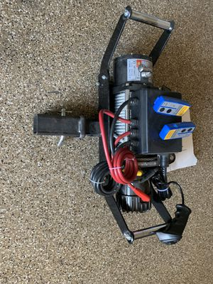 Electric Winch X-Bull 1300 lbs, dc 12v 4wd winch for Sale in Glendale, AZ