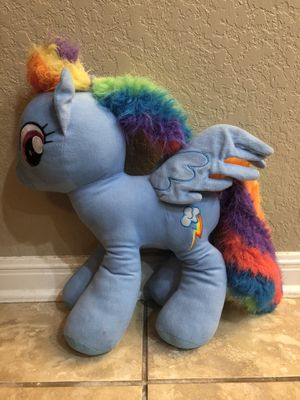 Rainbowdash Plushie- My Little Pony for Sale in San Antonio, TX