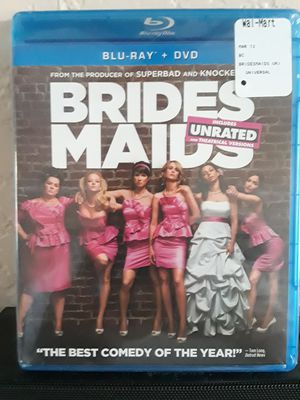 New Unrated Bridesmaids Blu-ray and DVD for Sale in Temecula, CA