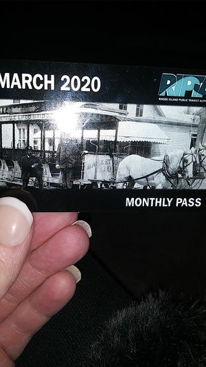 March bus pass for Sale in North Providence, RI