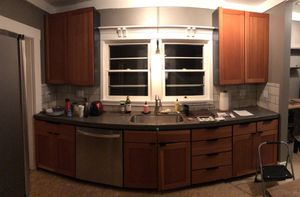Solid wood kitchen cabinets for Sale in Vancouver, WA