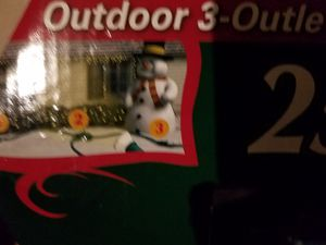 Out door/indoor extension cord for Sale in Mansfield, TX