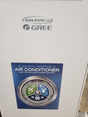 Soles Air 8,000 BTU Portable Air Conditioner for Sale in Saint Charles, MD