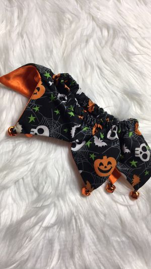 Halloween Dog Scrunchie Mad Hatter Scrunchie for Sale in Eagle Point, OR