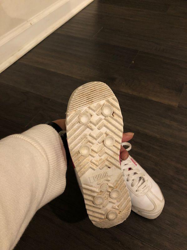 Girls puma shoes sz 12
