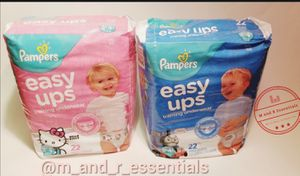 Pampers pull-ups and diapers size newborn-5t $6 each (2 for $11) for Sale in Philadelphia, PA