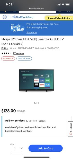 Brand New 32inch Smart TV for Sale in Missouri City, TX
