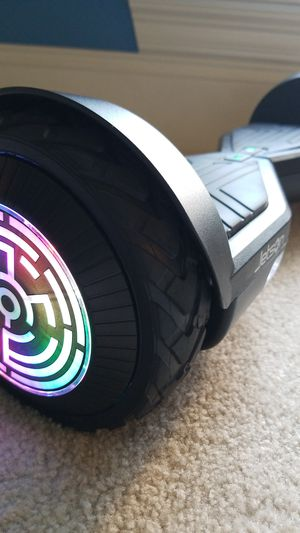 NEW Jetson Rogue All Terrain Light up Wheels Hoverboard & Charger for Sale in Tuscaloosa, AL