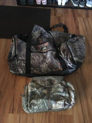 Fieldline Duffle Bag and Case hunting fishing camping for Sale in Orting, WA