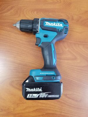Makita brushless drill driver with 3.0ah battery for Sale in Covina, CA