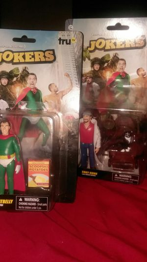 Impractical Jokers action figures for Sale in Charlotte, NC