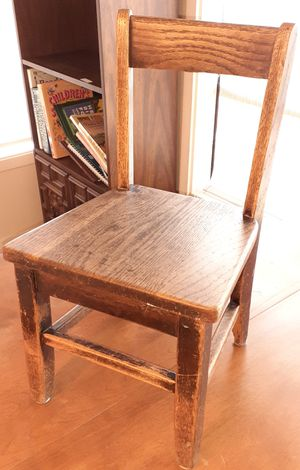 Small Antique Childs Chair for Sale in Lacey, WA