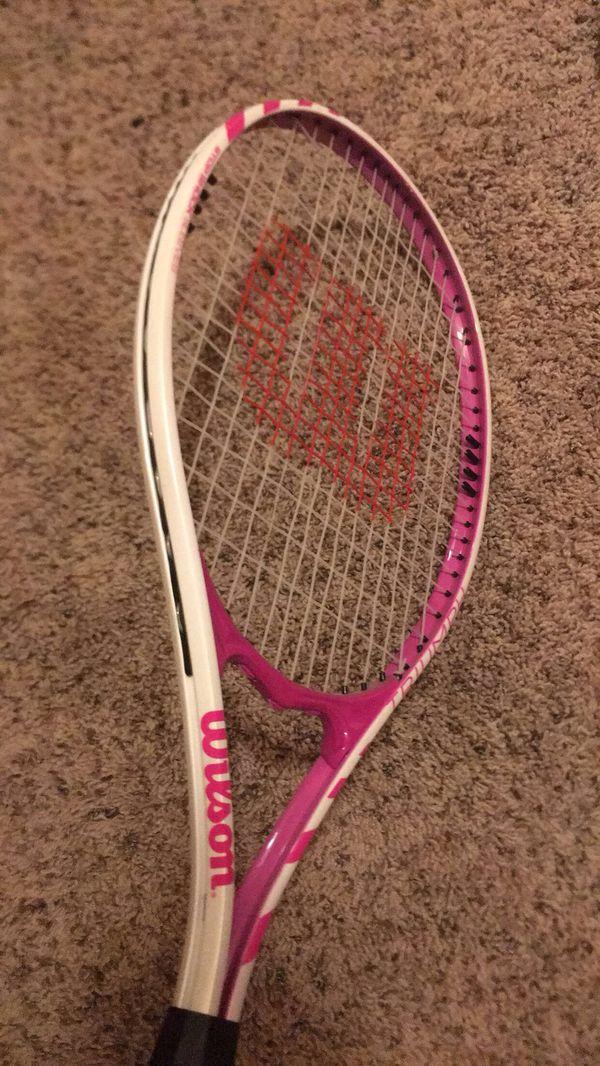 Wilson tennis racket good condition💕