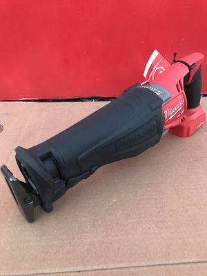 MILWAUKEE FUEL M18 ONE-KEY LITHIUM ION CORDLESS BRUSHLESS SAWSALL RECIPROCATING SAW 4-SPEED (TOOL ONLY) for Sale in Redlands, CA