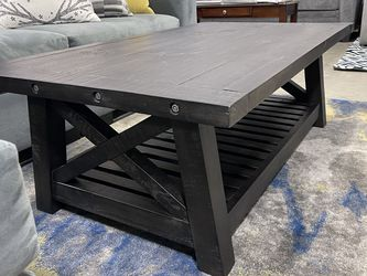3pcs Coffee table set! Solid Wood ! Rustic Style ! for Sale in Santa Ana,  CA