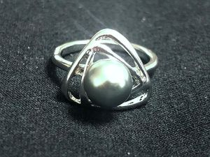Sterling Silver / Green Pearl Ring for Sale in Las Vegas, NV