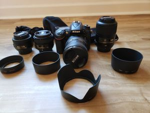 Nikon D7100 and lenses. for Sale in Irvine, CA