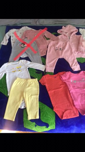 Babygirl 6 months carters for Sale in Santee, CA