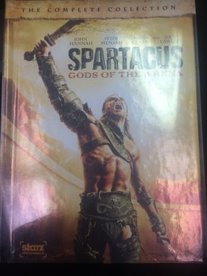 Spartacus God's of the Arena The Complete Collection DVD for Sale in Harrisburg, NC