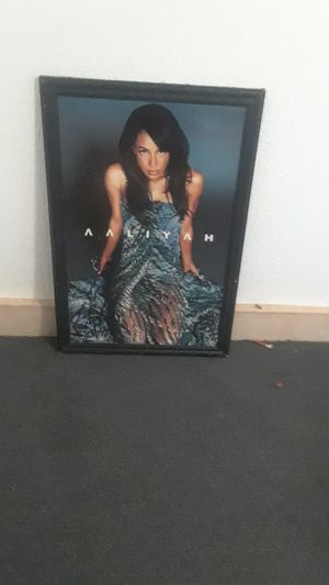 aaliyah picture for Sale in Moreno Valley, CA