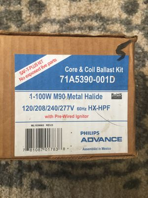 Philips Advance Ballast Kit for Sale in Manassas, VA