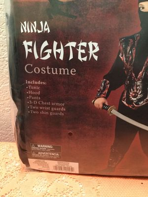 New ninja fighter Halloween costume 10-12 child $10.... #55...9020 N. 91 st ave. Peoria 85345 for Sale in Glendale, AZ