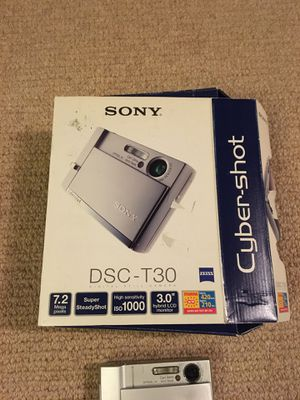 Sony DSC T30 CyberShot Camera for Sale in New York, NY