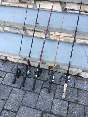 Fishing pole rod and reel for Sale in Concord, MA
