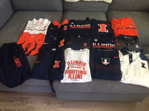 Nike university of Illinois clothing for Sale in Morrisville, NC