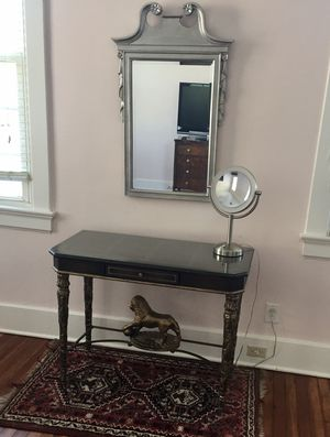 Writing desk, lion figure base for Sale in Beaufort, SC