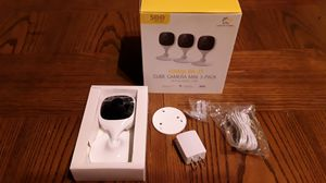 brand new sealed QSEE wifi indoor home security camera 3 pack for Sale in Evansville, IN