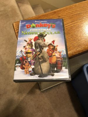 Donkeys Christmas Shrektacular DVD Brand New Factory Sealed Movie dream works shrek for Sale in Buena Park, CA