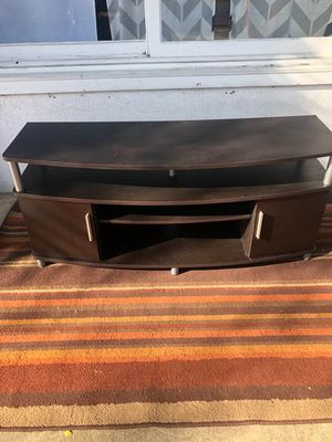 Dark Brown Tv Stand for Sale in Los Angeles, CA