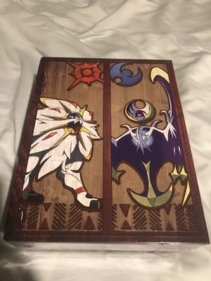 Pokémon Sun and Moon Vault Collector's Edition for Sale in Raleigh, NC