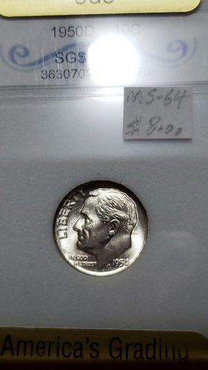 1950 -D- SILVER DIME for Sale in Myrtle Beach, SC