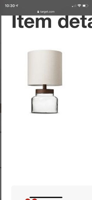 Table Lamps x2 for Sale in Washington, DC