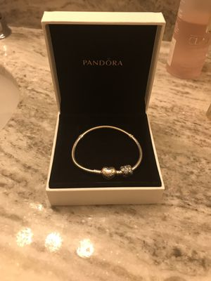 Brand new pandora starter silver bracelet. NEW NEVER USED. for Sale in Cromwell, CT