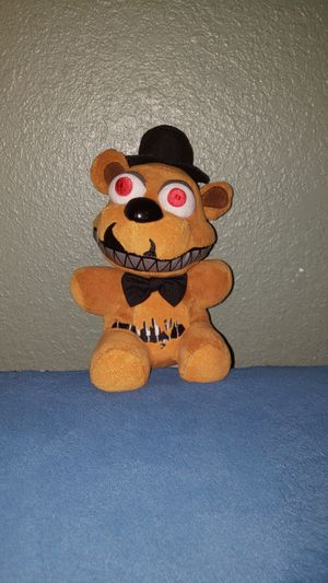 Five nights at freddy's plushie from five nights at freddy's 4 for Sale in Chula Vista, CA