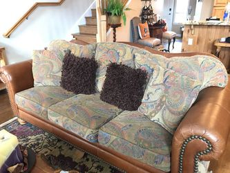 Chair and queen sized sleeper sofa for Sale in Huntsville,  UT