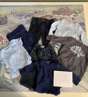 Baby boy clothes 3-6 months for Sale in Queen Creek, AZ