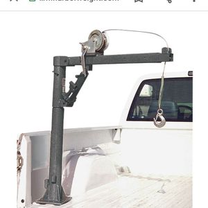 Pick Up Bed Crane With Thousand Pound Winch for Sale in Oroville, CA