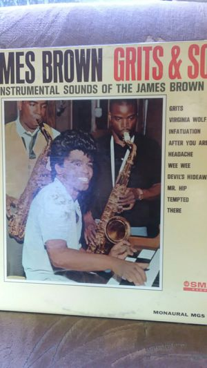James Brown grits and soul the instrumental sounds of the James Brown Band Monaural MGS 27057 for Sale in Cathedral City, CA