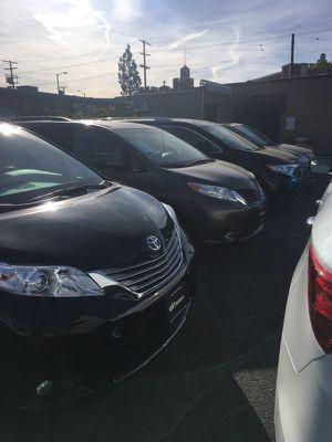 Vendo todo tipo de mini van for Sale in Los Angeles, CA