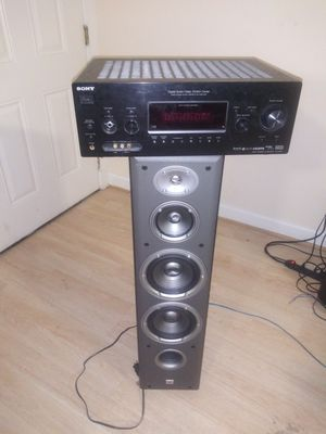 Sony Control center w/ JBL speaker( work perfect together) for Sale in Washington, DC