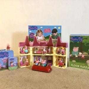 Peppa Pig Play set Bundle for Sale in Anaheim, CA