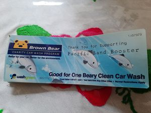 Brown Bear car wash tickets for Sale in Seattle, WA